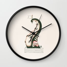 Overfished Wall Clock