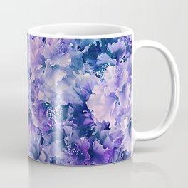 Hibiscus Flower Pattern Coffee Mug