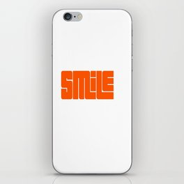Smile  iPhone Skin