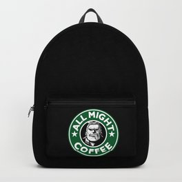 All Might Coffee Backpack
