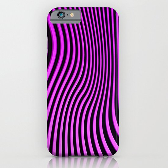 Stripes in Pink iPhone & iPod Case