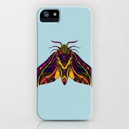 Elephant Hawk Moth iPhone Case