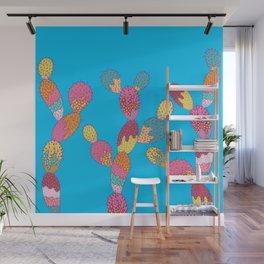 Summer Succulent Wall Mural