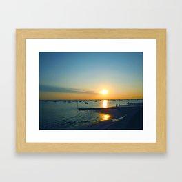 Andernos Sunset Framed Art Print