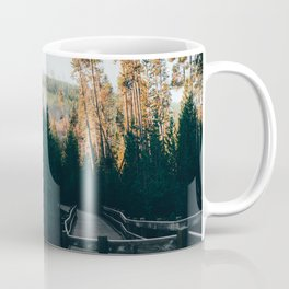 Frosty Autumn Morning Trail Coffee Mug