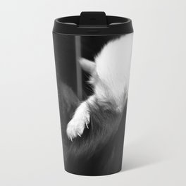 Soft kitty, white kitty. Travel Mug