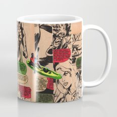 Caiaque Prateado Coffee Mug