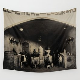Alchemical Laboratory 1904 World's Fair, St. Louis Wall Tapestry