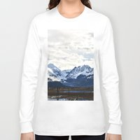 alaska Long Sleeve T-shirts featuring Beautiful Alaska by Chris Root