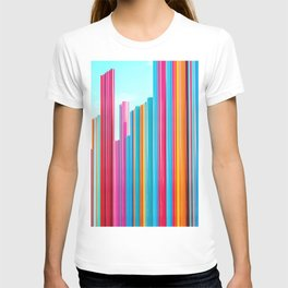 Colorful Rainbow Pipes T-shirt