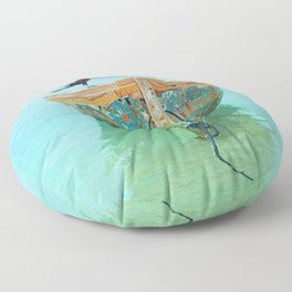 BOATI-FUL Floor Pillow