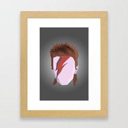 Bowie. Framed Art Print
