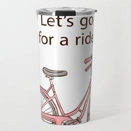 Cartoon Bike Travel Mug