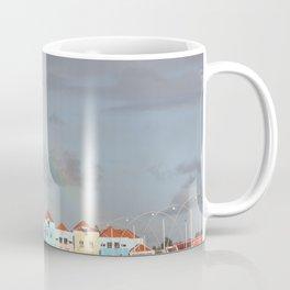 Rainbow over Willemstad Curaçao Coffee Mug