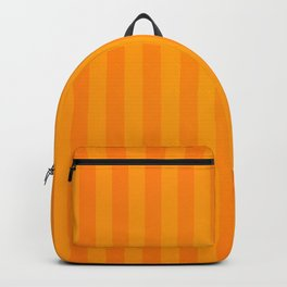 Orange Stripes Backpack
