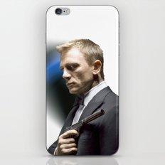 Daniel Craig as James Bond iPhone & iPod Skin