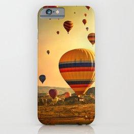 Hot Air Balloons at Sunrise in Cappadocia iPhone Case