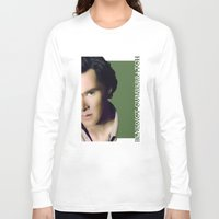 benedict cumberbatch Long Sleeve T-shirts featuring Benedict Cumberbatch by GinHans
