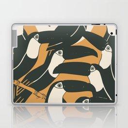 Black birds Laptop & iPad Skin