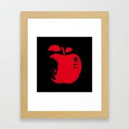 Deadly Addiction Framed Art Print