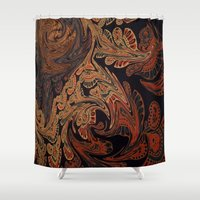 tapestry Shower Curtains featuring Tapestry by Lauren Epifanio