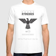 House Atreides White Mens Fitted Tee LARGE