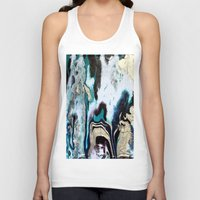 orca Tank Tops featuring Orca by Lauren Yonenson