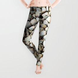 Seashells of Camargue Leggings
