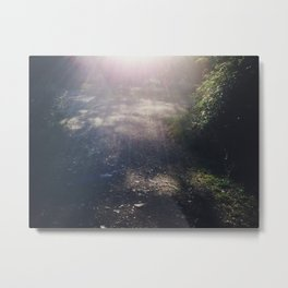 There's a light #01 Metal Print