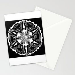 Black & White Sea and Surf Stationery Cards