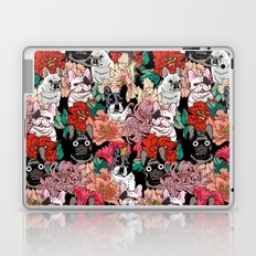 French Bullbloom Laptop & iPad Skin