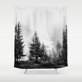 Zeitgefluester NO1 Shower Curtain