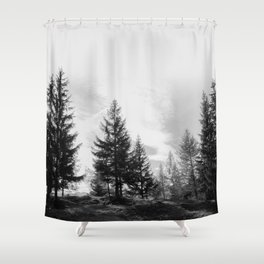 Zeitgefluester NO1 Shower Curtain