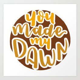 Seventeen - You Make My Dawn (Eternal Sunshine ver.) Art Print