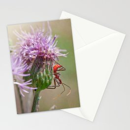 Kill Pose Red Stationery Cards