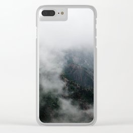 The Misty Valley Clear iPhone Case