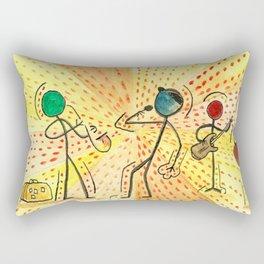 "#cagsticks ""The travellers Band"" Rectangular Pillow"