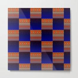 2in1 Pattern Mix, Maria Metal Print