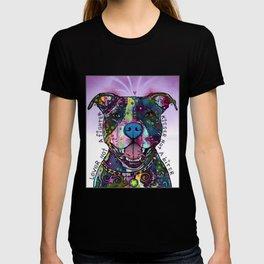 Colourful Pit Bulls, pit bull gift T-shirt
