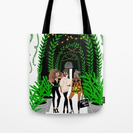 Black Models Tote Bag