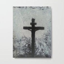 The light Metal Print