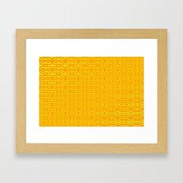 0108 Patternwall  1 Framed Art Print