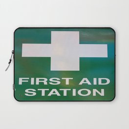First Aid Station Laptop Sleeve