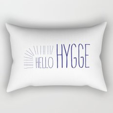 Hello Hygge Rectangular Pillow