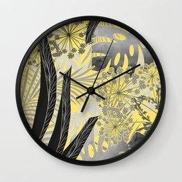 Tropical noon. Wall Clock