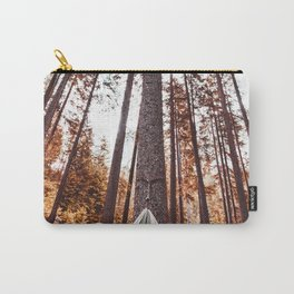 man resting on the hammock Carry-All Pouch