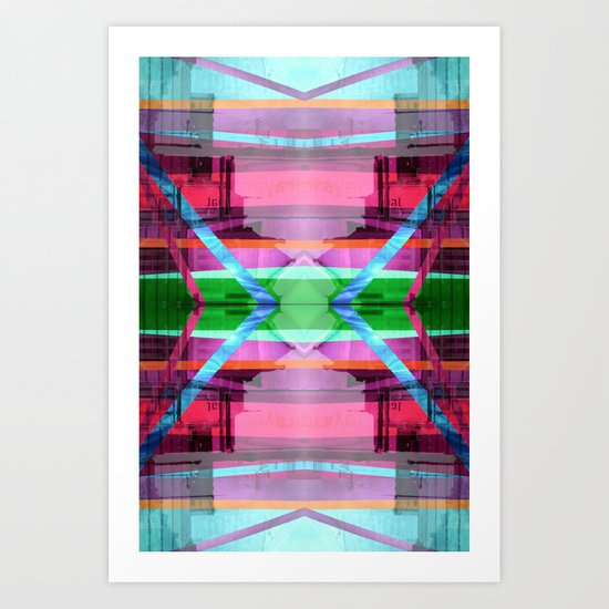 CTR 0812 (Symmetry Series III) Art Print