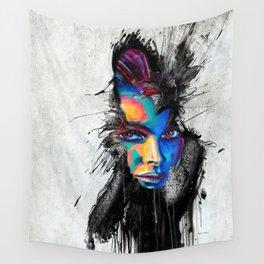 Facial Expression Wall Tapestry