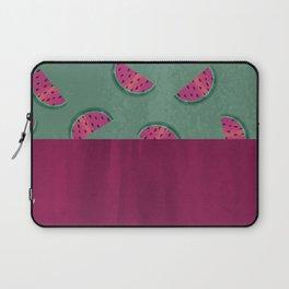Winkin' Pinkin' Watermelon Laptop Sleeve