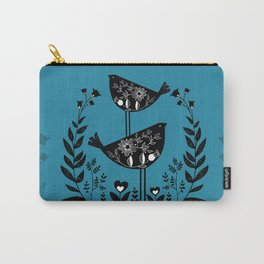 Danish Birds Bring Good Luck And A Good Life Carry-All Pouch